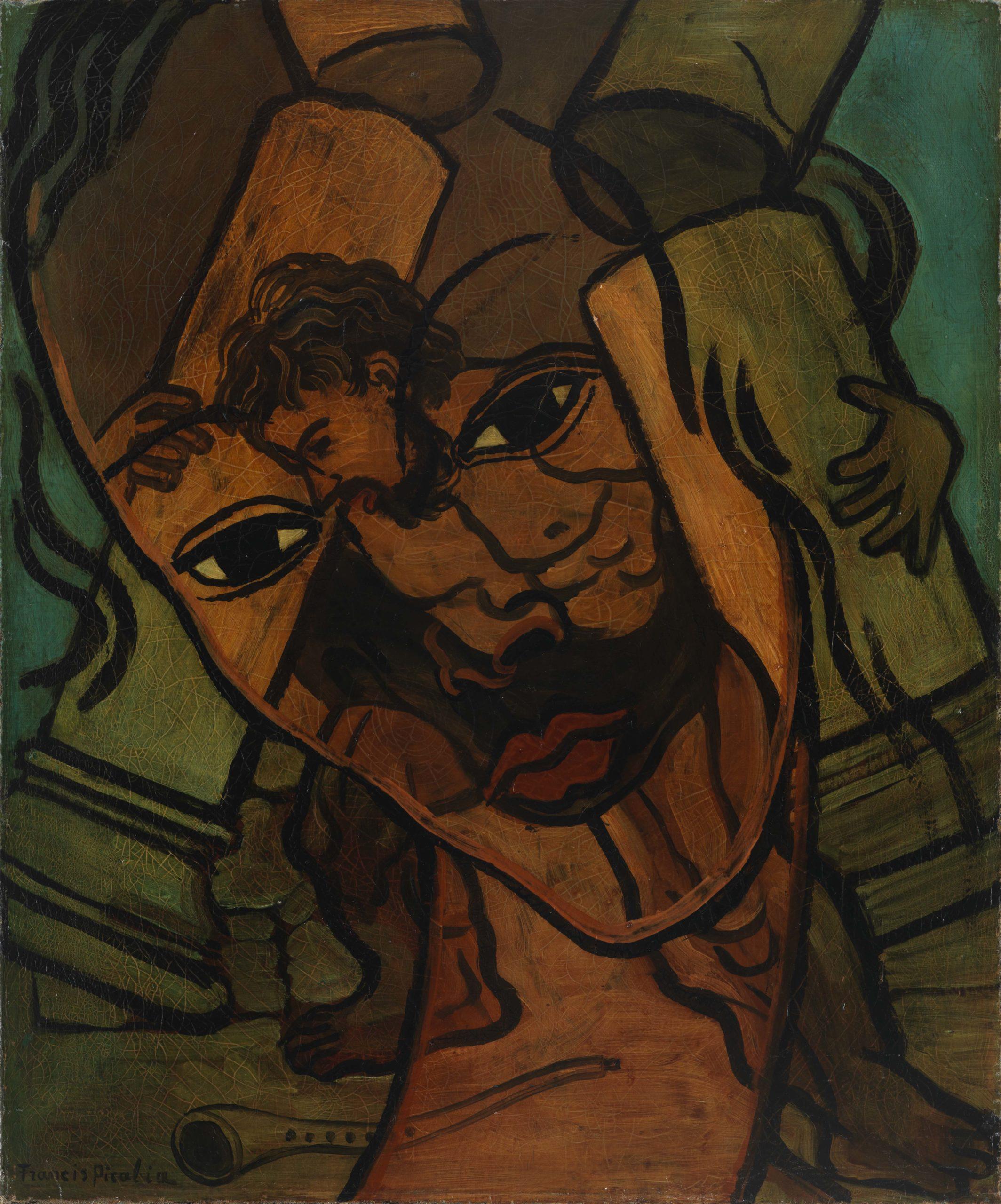 Francis Picabia, Trasparence, Samson et Dalila, 1935-37