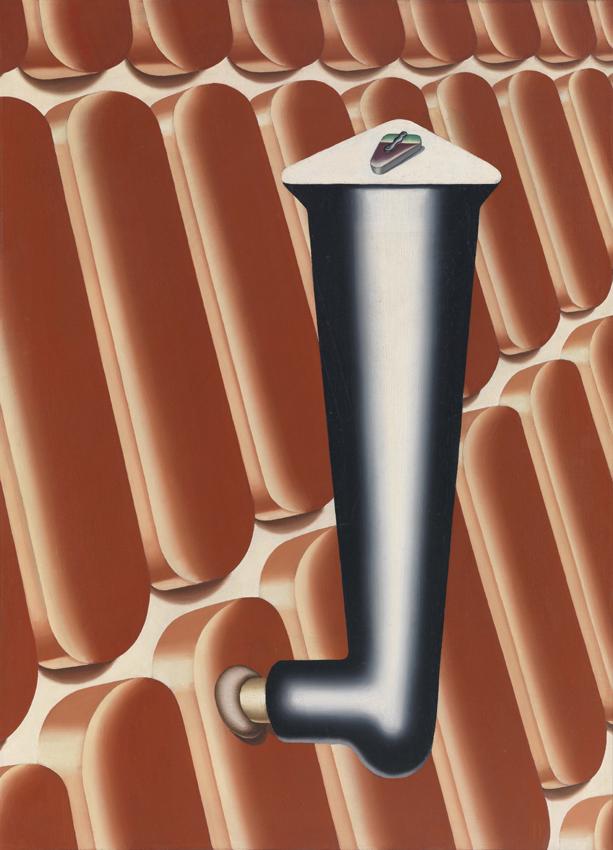Konrad Klapheck, Vergebliches Warten, 1966, Öl auf Leinwand, 79,8 x 58 cm