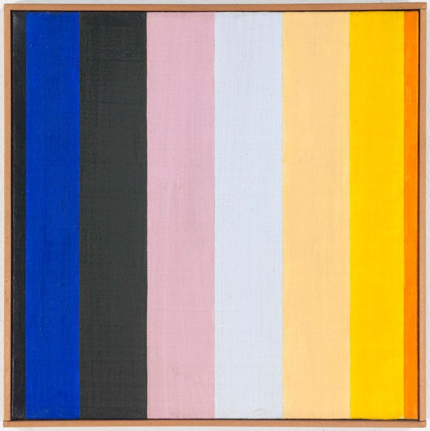 Heinz Butz, Ohne Titel, 1971, Kunstharz auf Leinwand, 30,3 x 30 cm