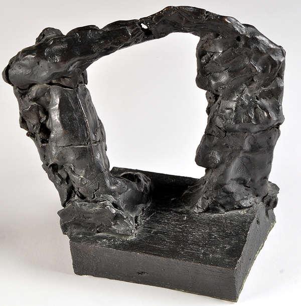 Per Kirkeby, Tor, 1981, Bronze, 29,5 x 29 x 16 cm