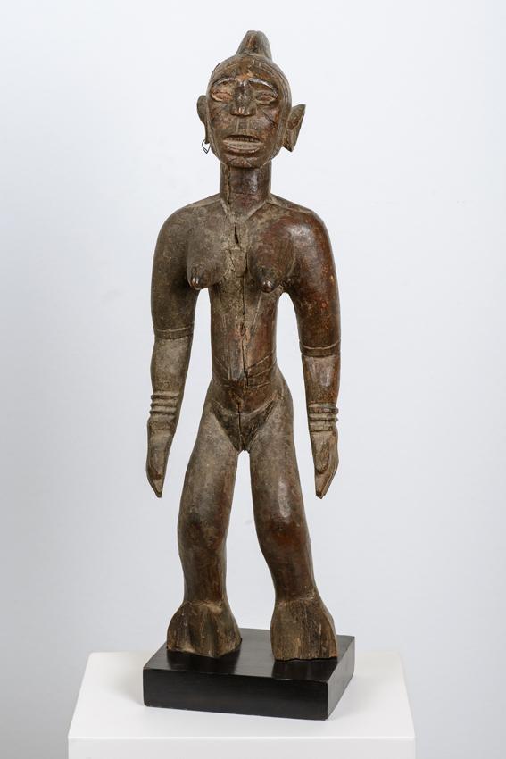 Mossi, Burkina Faso, wood, vegetable material, 52 x cm