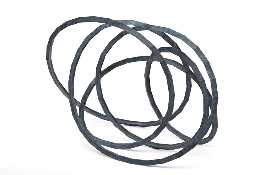 Abraham David Christian, Interconnected Sculpture, 2017, Bronze, 85 x 130 x 65 cm