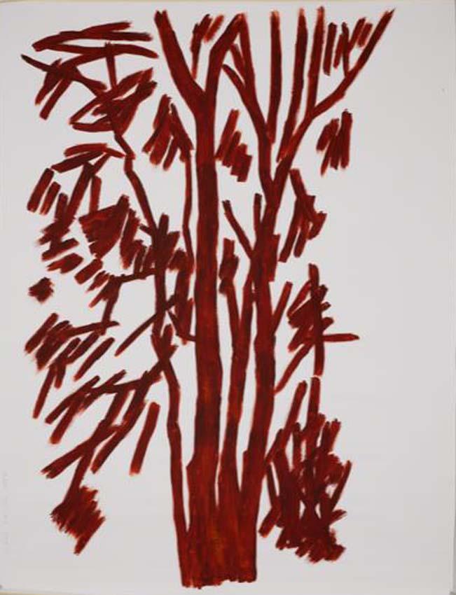 Anne Loch, o.T., 2004, Acryl auf Leinwand, 210 x 160 cm