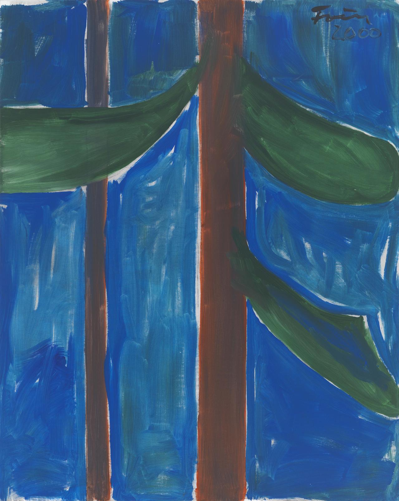 Günther Förg, Ohne Titel, 2000, Acryl auf Leinwand, 151 x 120,5 cm