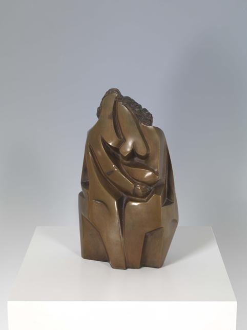 Hans Uhlmann, Schwestern, 1947, Bronze, 27,5 x 17 x 8,3 cm
