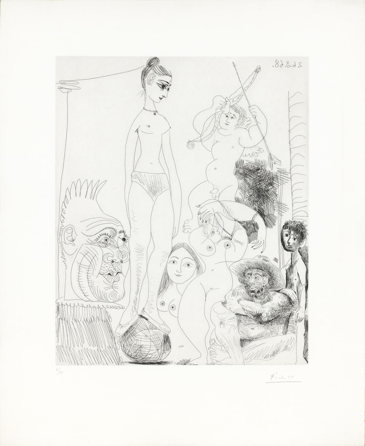 Pablo Picasso Galerie Haas AG Zürich