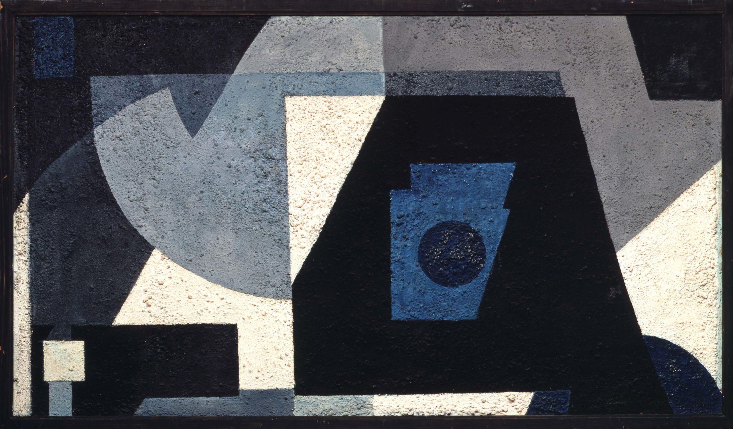 Günter Fruhtrunk, Schatten und Blau