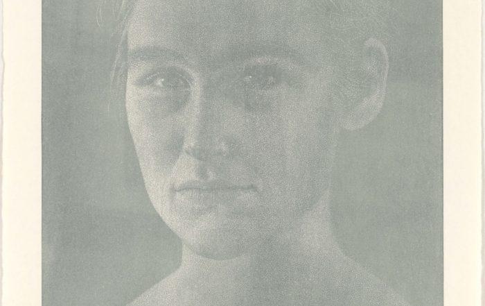 Franz Gertsch, Bagatelle IV - Silvia, 2008
