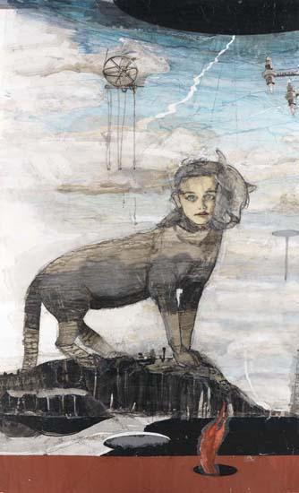 Kerstin Grimm, Sphinx, 2015