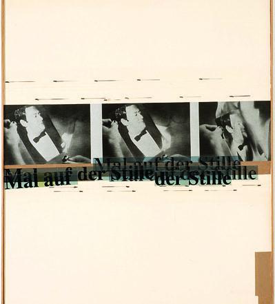Astrid Klein, Mal auf der Stille, 1980