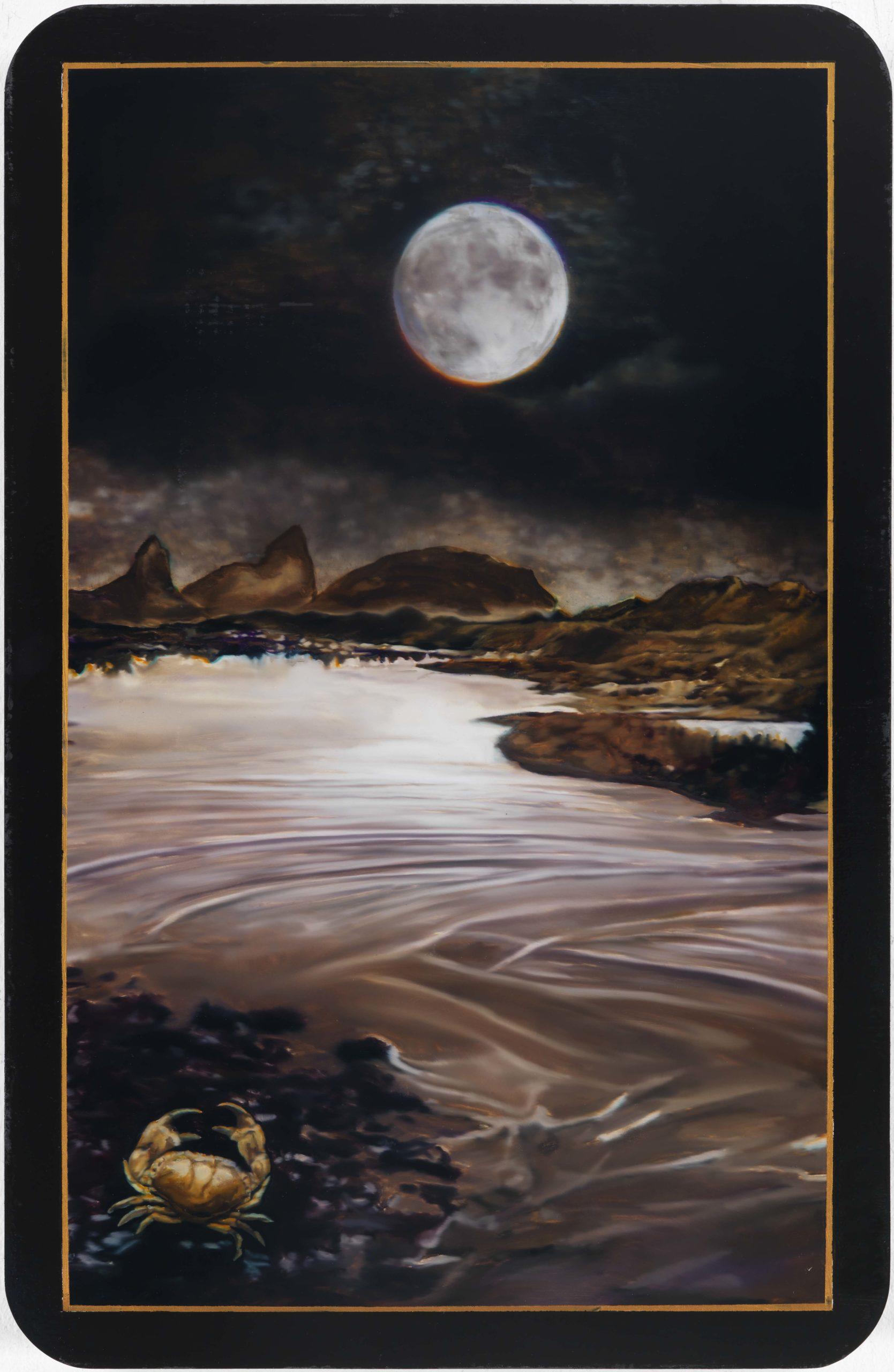 Dimitris Tzamouranis , The Moon, 2913