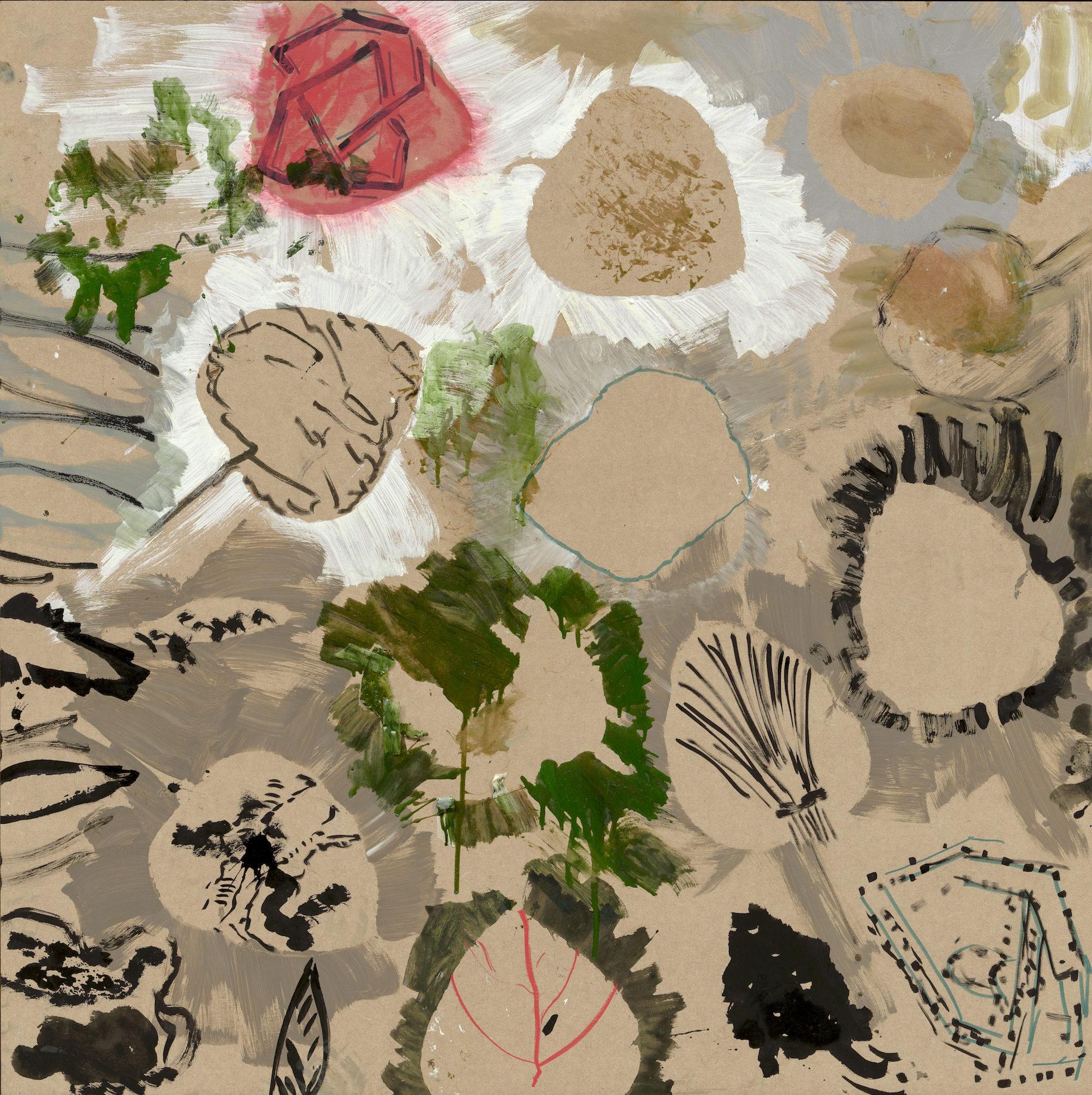 Reinhard Pods, Ohne Titel, 2005, Oil on canvas, 230.6 x 164.8 cm