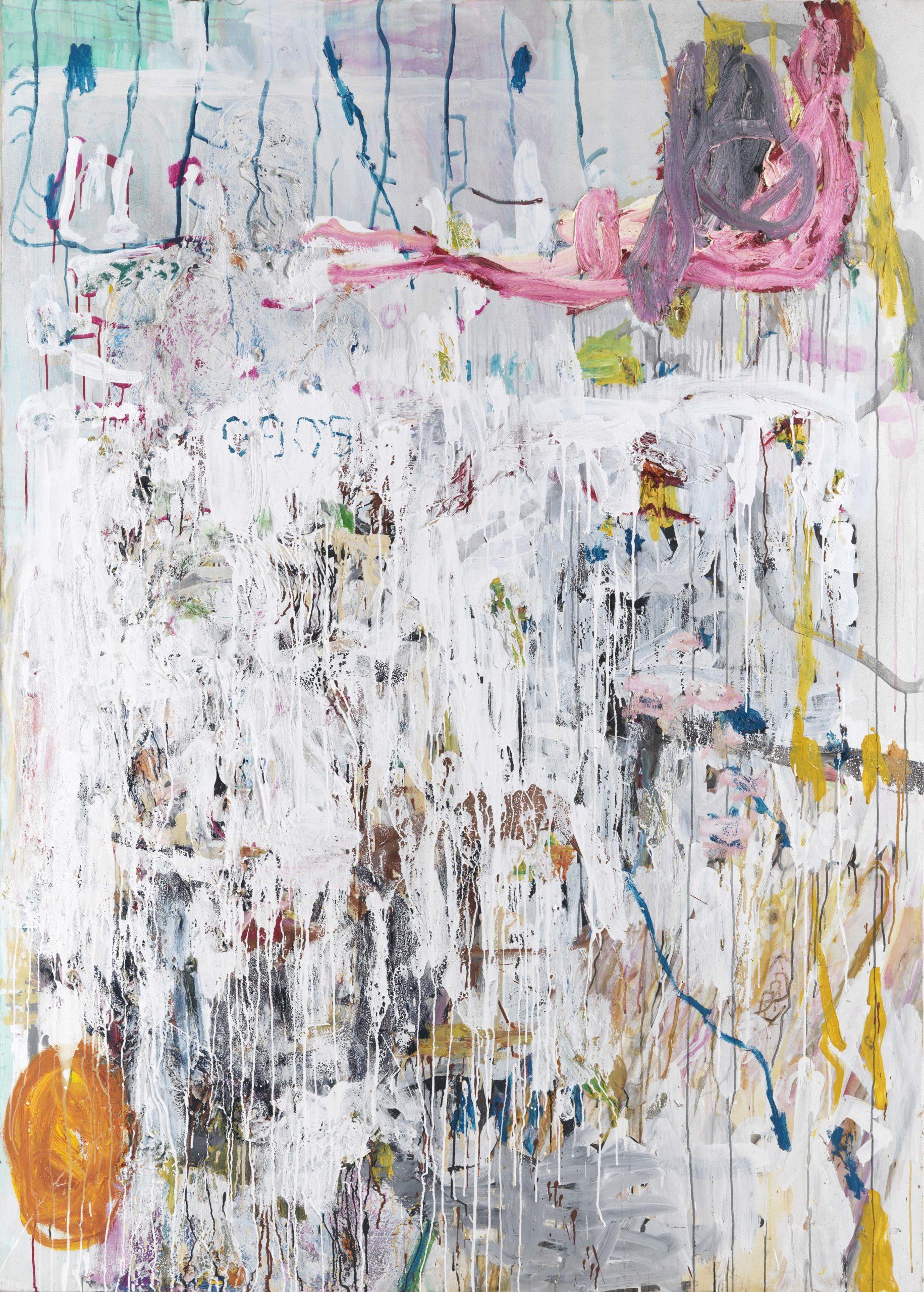 Reinhard Pods, Ohne Titel, 2005, Öl auf Leinwand, 230,6 x 164,8 cm