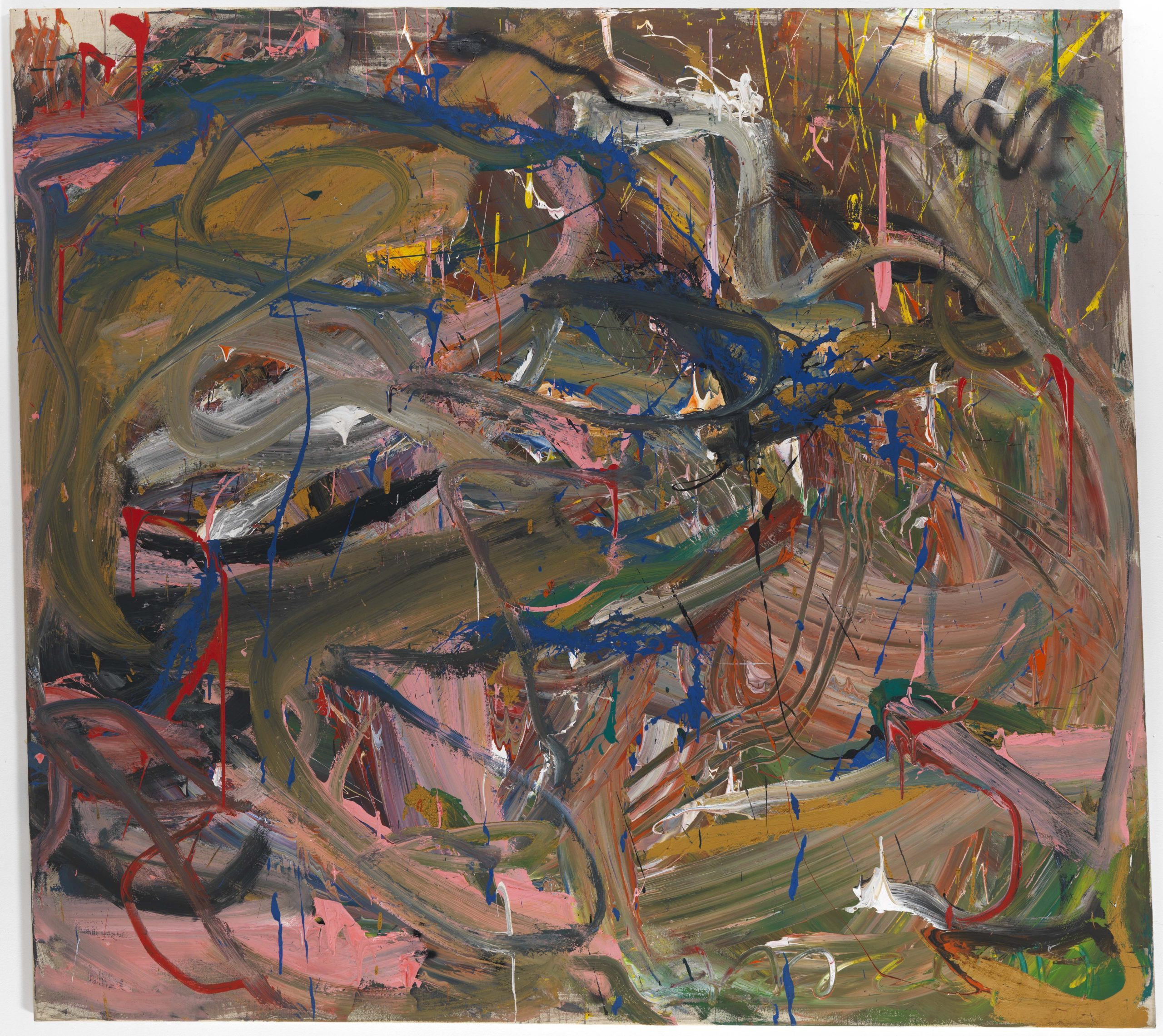 Reinhard Pods, Untitled (will), 1981, oil on canvas, 200 x 220.3 cm
